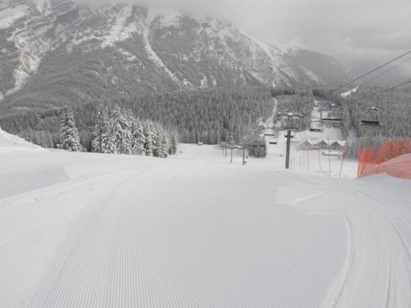 Mt. Norquay Opening Day