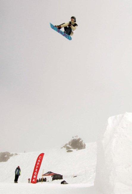Enni Rukajarvi wins the 2010 Big Air at the Junior World Champs