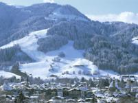 Ski Resort Kitzbuhel in Austria
