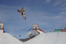 Burton open halfpipe qualification