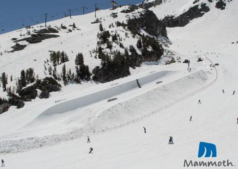 Mammoths 2009 spring halfpipe