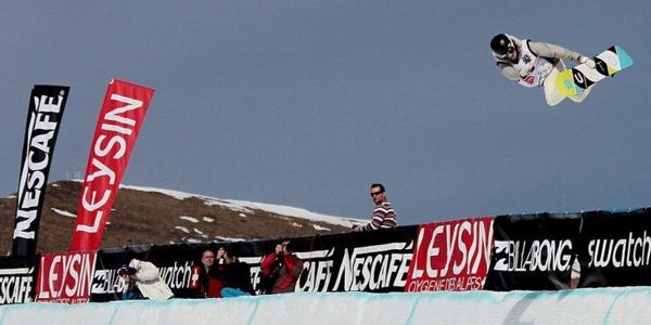 Cilka Sadar & Lucien Koch win 2011 Champ in Leysin