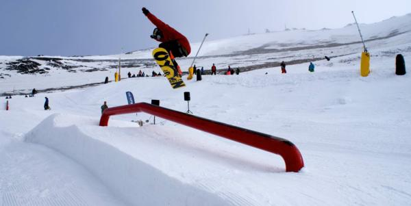 Sky High terrain park 'a hit' at Mt Hutt