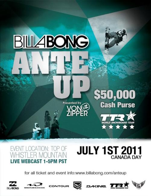 Billabong Ante Up 2011 flyer