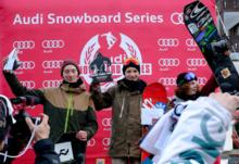 Halfpipe World Rookie Tour Rocks Laax!