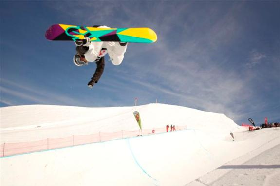 2010 Junior WorldChamps Halfpipe finals Rebecca Sinclair (NZE)