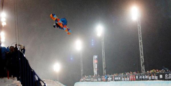 Kelly Clark wins Euro X-Games Gold