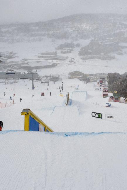 2008 Australian Open - Slopestyle course