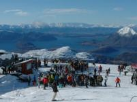 Ski Resort Treble Cone in New Zealand