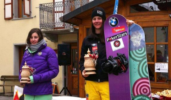 Zoe Gillings wins in Gressoney 26-27 Feb 2011