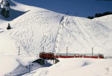 Ski Resort Villars in Switzerland