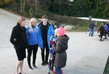 Sports Minister Tracey Crouch visits Chatham