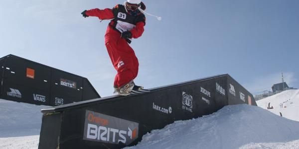 Slopestyle results from the Orange Brits
