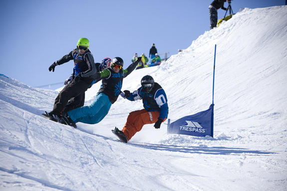 Brits Snowboard Cross