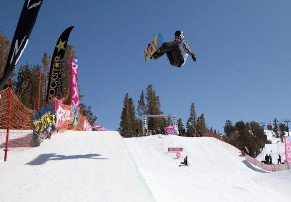 Roxy Chicken Jam 2010, halfpipe winner Kelly Clark
