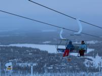 Ski Resort Ruka in Finland