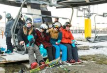 Thousands turn out for Coronet Peak opening day