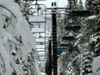 Ski Resort Northstar in USA