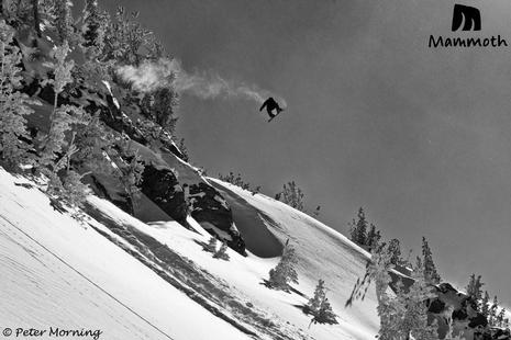 Photo: Gabe Taylor airing near Chair 14