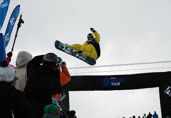 The Brits 2010 mens halfpipe