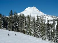 Ski Resort Mount Hood Meadows in USA