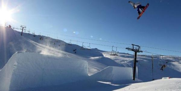 Winter Games NZ snowboard slopestyle results