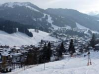 Ski Resort Les Gets  in France