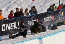 Iouri Podlatchikov takes the Evolution Halfpipe