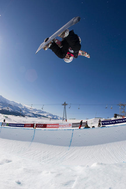 BEO09 Halfpipe qualification rider: Lesley McKenna