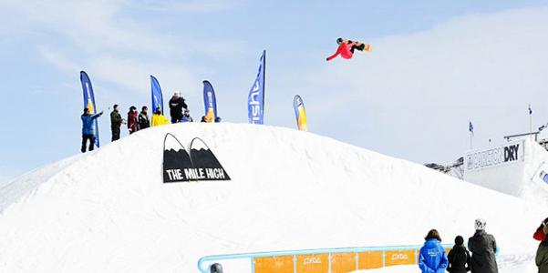 WORLD SNOWBOARD TOUR IN THE SOUTHERN HEMISPHERE