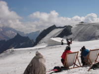 Saas Fee Hosts European and World Cup