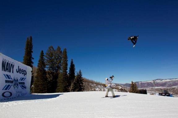 Shaun White competes in Men's Slopestyle Elimination at Winter X Games 15