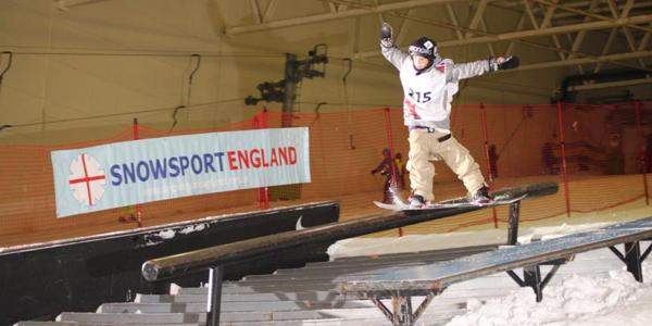 High Standards at the UK Indoor Slopestyle Champs