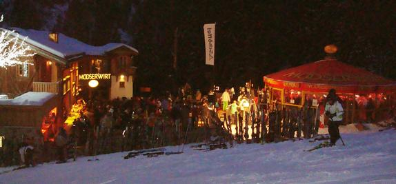 Moosver apre ski bar