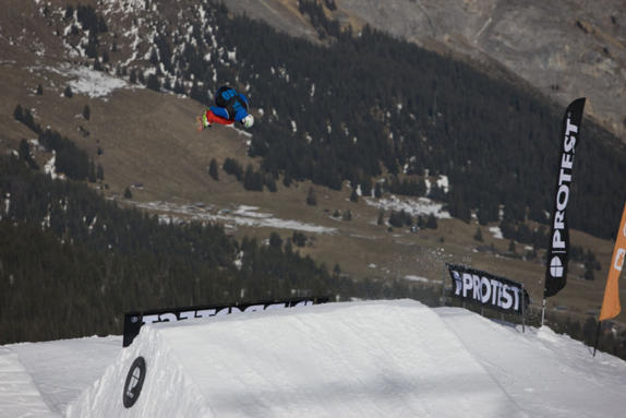 Brits 2011 mens slopestyle rider: Billy Morgan