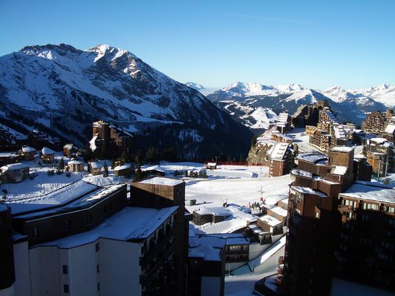 Avoriaz village vista