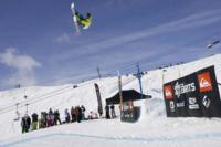 Nate Kern lands a 1260 to win Big Air at the Brits