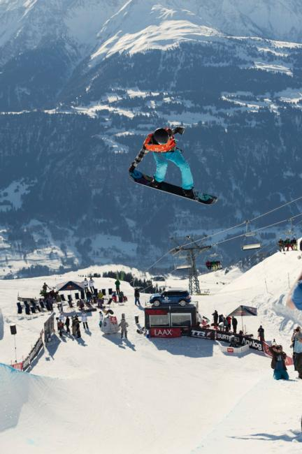 Kelly Clark Butron Open 2012