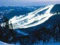 Ski Resort Stoneham in Canada