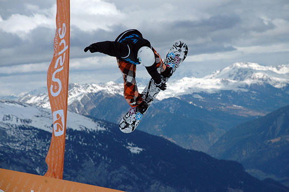 Photos from the Brits halfpipe competition 2010