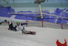 Big turn out at English Snowboard Cross Champs