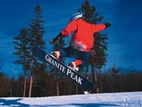 Ski Resort Granite Peak in USA