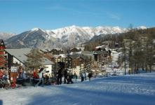 Ski Resort Risoul in France