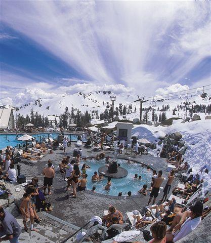 Squaw Valley Spring Pool Party, April 2010