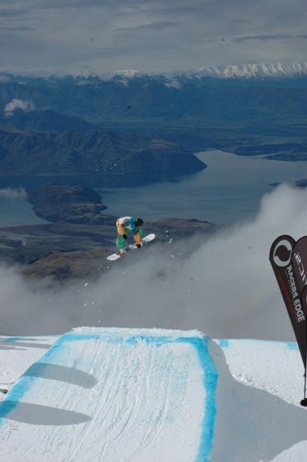 TrebleCone hosts Racers Edge-Volkl Big Air