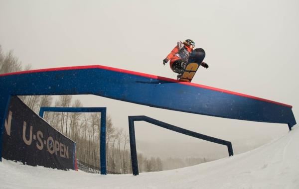 2014 Burton US Open Womens Slopestyle Winner Jamie Anderson