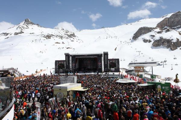 Ischgl end of season concert
