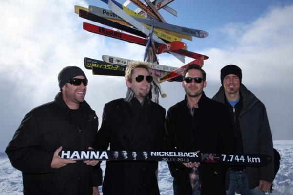 Nickleback Get Ready For Winter!