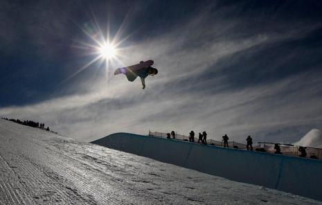 NZ Games mens halfpipe 2009