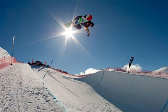 2010 Junior world champs halfpipe qualification - Rana Okada
